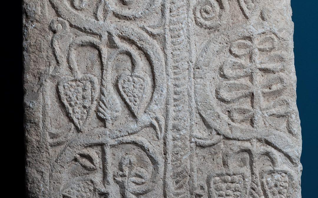 Relieve del monasterio de San Pedro de Valeránica