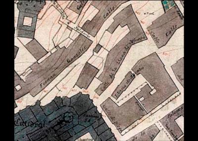 Plano de las Llanas Burgos