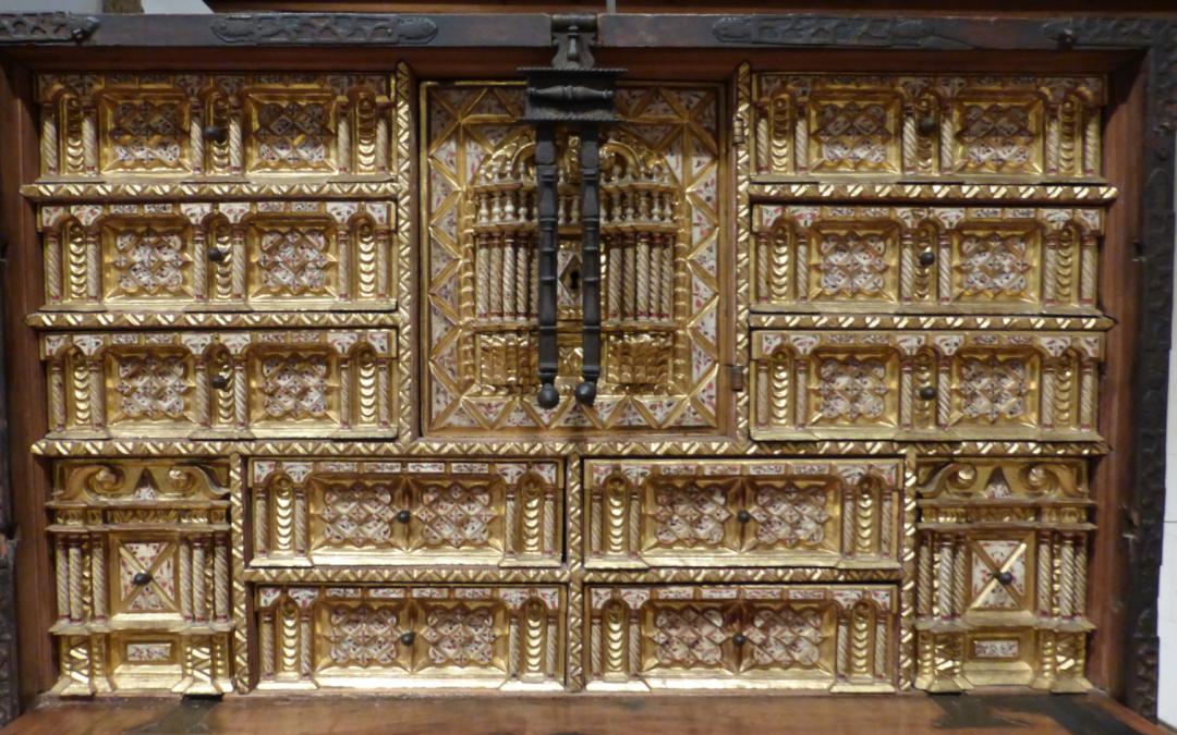 Escritorio, siglo XVII